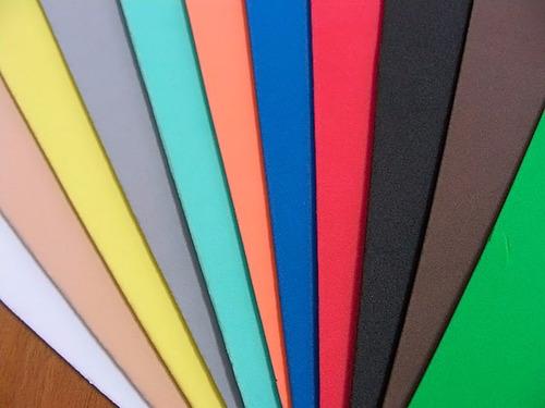 paq. x 50 plancha de goma eva 60x40cm de 1,5 mm- nuñez-