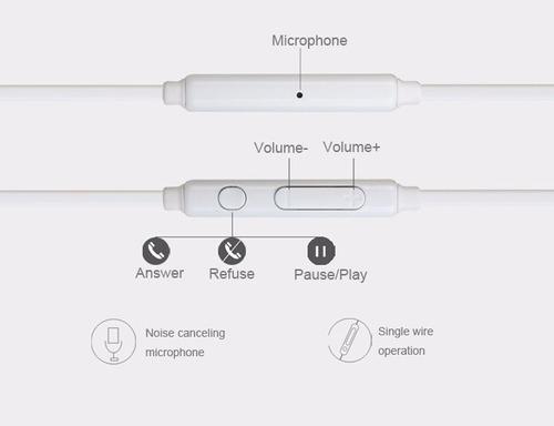 paquete 100 auriculares con micrófono de 3.5mm