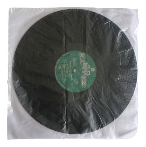 paquete 100 bolsas internas para discos lps vinilos acetatos