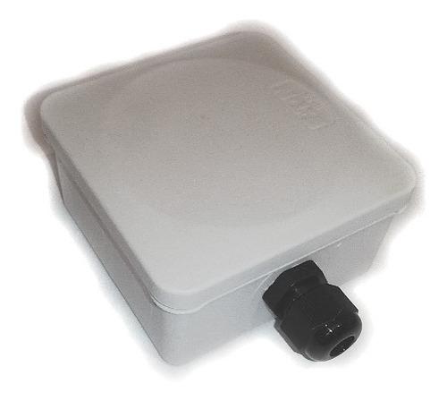 paquete 100 pz conector glandula impermeable exterior 3/8