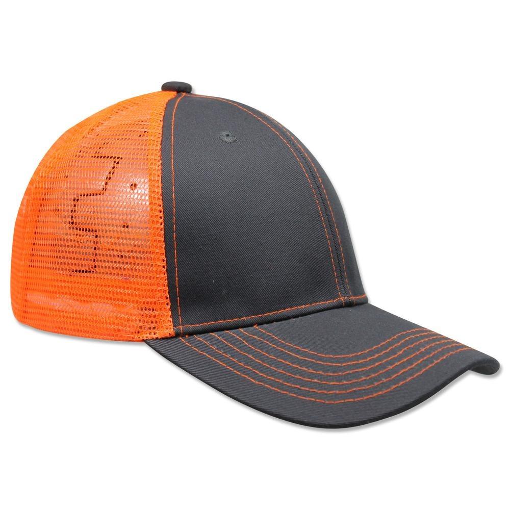 paquete 12 gorras sc copa alta malla acrílico gris naranja n. Cargando zoom. a944d64cfd4