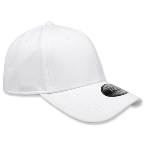 paquete 12 gorras sc flex jersey blanco unitalla