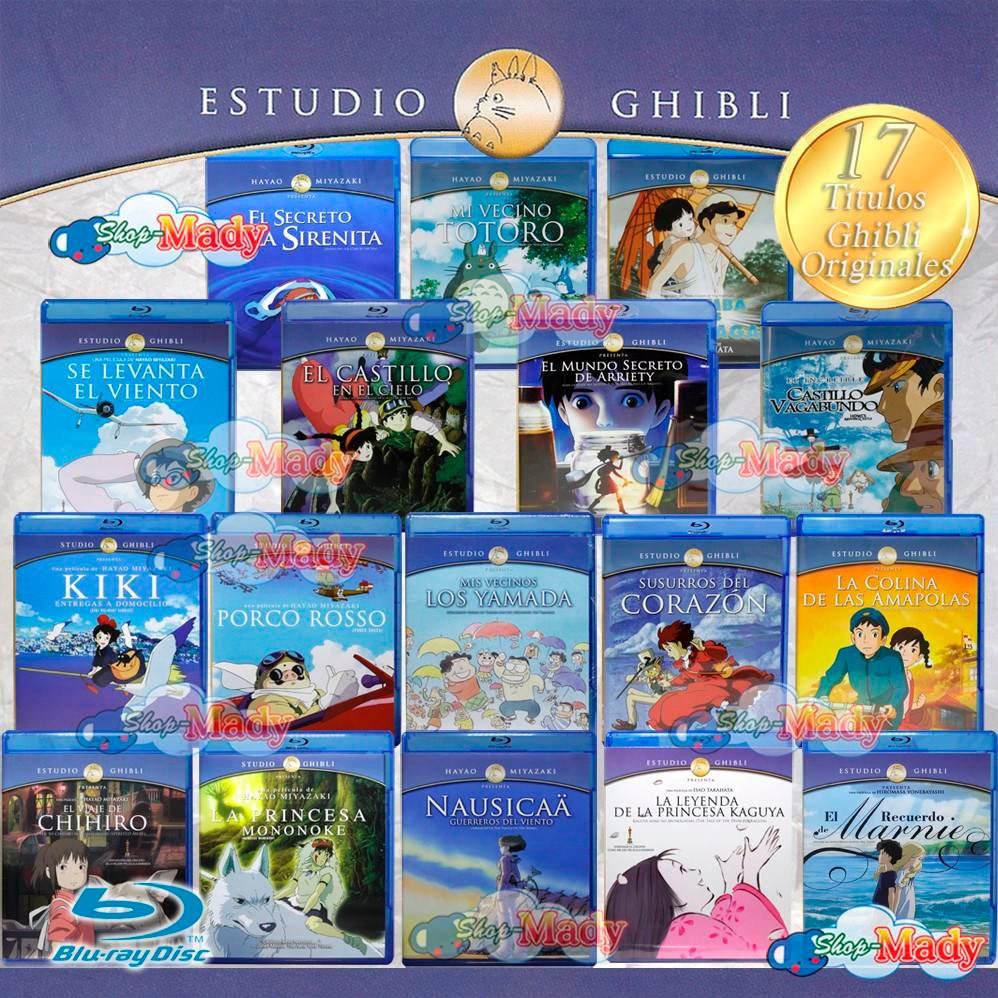 Studio Ghibli lanza una colección de imágenes de sus ...