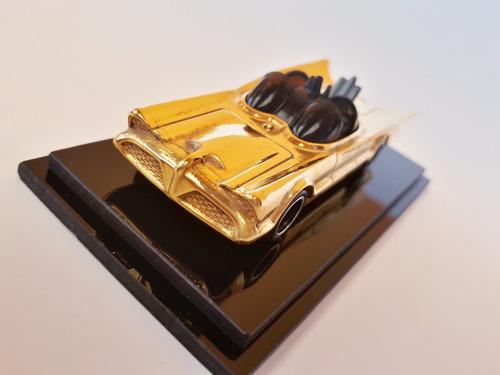 paquete 2 batimoviles enchapado en oro de 14 kilates