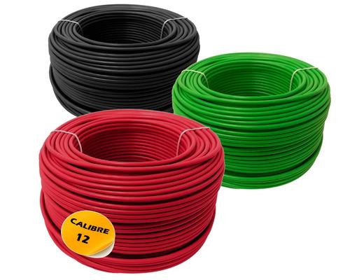 paquete: 2 cajas cable calibre 10  y 3 caja calibre 12