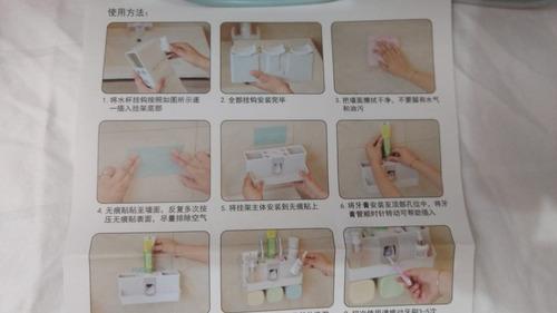 paquete 2 dispensadores para baño