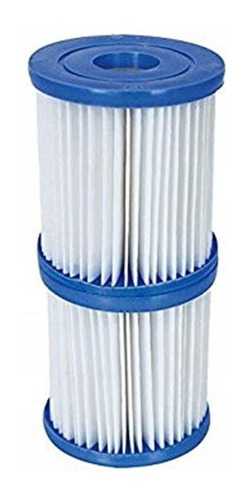 paquete 2 filtro cartucho (s) tipo v para bomba bestway