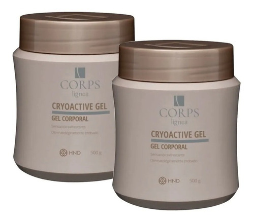 paquete 2 gel reductor de tallas cryoactive modelador hnd