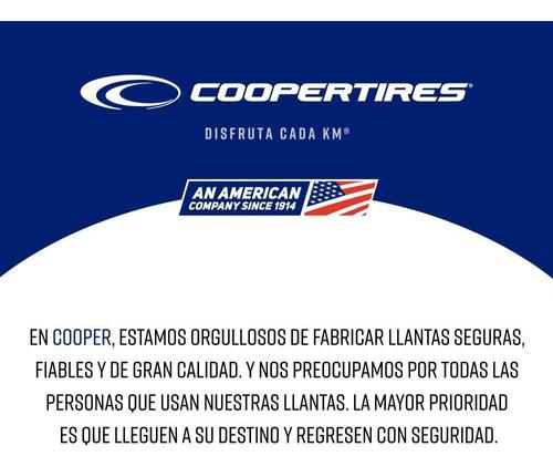 paquete 2 llantas 275/60r15 cooper cobra gt 107t