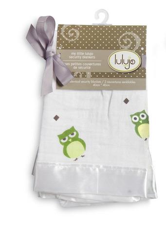 paquete 2 mantitas de seguridad- el buho te ama lulujo