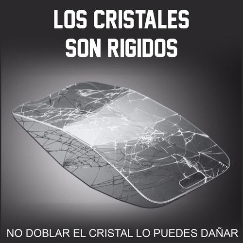 paquete 2 mica cristal templado lg q6 prime / plus m700 2x1