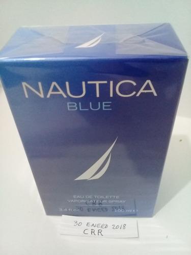 paquete 2 nautica blue 100 ml. c.u $ 750. envio gratis