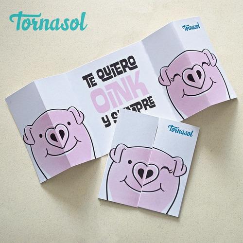 paquete 2 playeras + 2 tazas +tarjeta+ caja regalo puerquito