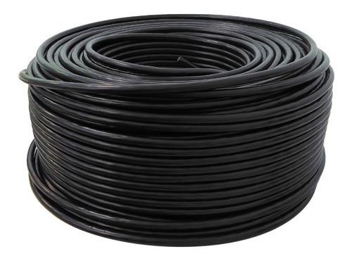 paquete: 2 rollos cable calibre 8 thw alucobre 100m cada uno