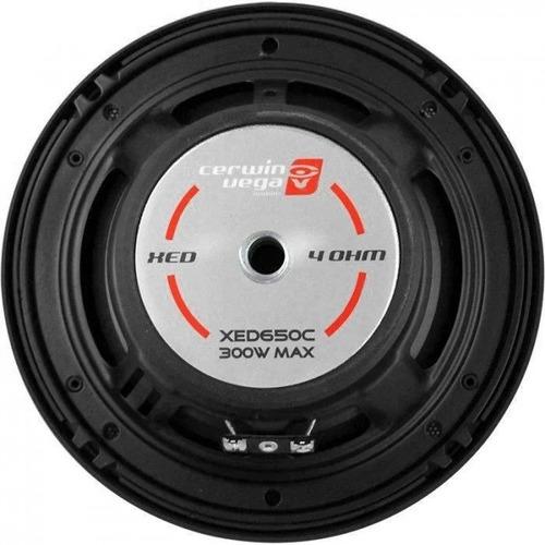 paquete 2 sets de medios cerwin vega xed650c 6.5  300 watts
