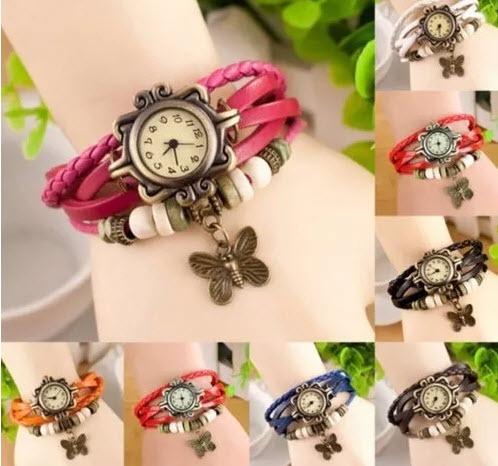 a2f7fa156519 Paquete 20 Relojes Vintage Mujer Reloj Pulsera Bisuteria Nue ...