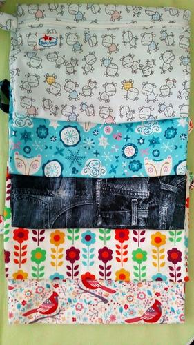 paquete 20 wetbag para pañal ecologico mayoreo