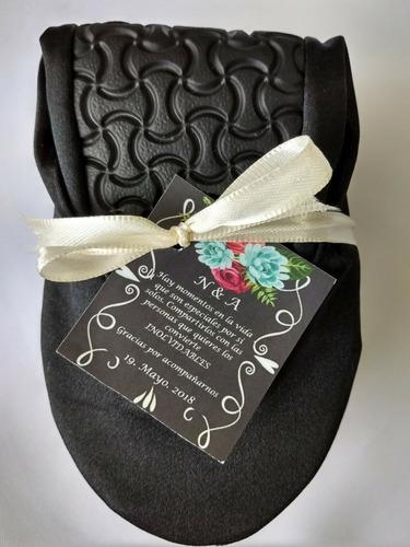 paquete 200 prs flats satin evento boda xv años