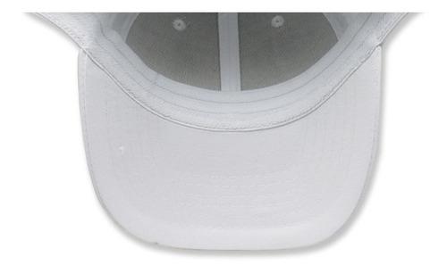 paquete 24 gorras sc copa baja algodon flex blanco unitalla