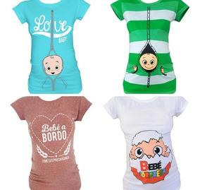 Boutique en ligne 30a1f f6d46 Paquete 3 Blusas De Maternidad. Mommy Mouse