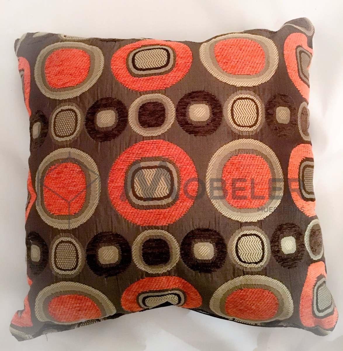 Paquete 4 cojines decorativos para sala minimalista moderna en mercado libre - Modelos de cojines decorativos ...