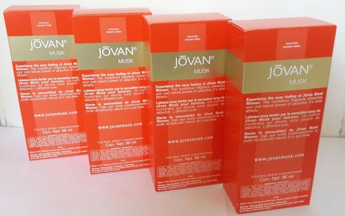 paquete 4 jovan women 96 ml. $ 920. envio gratis