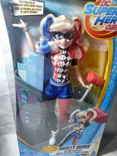 paquete 4 muñecas dc supehero girls grandes 46 cm selladas