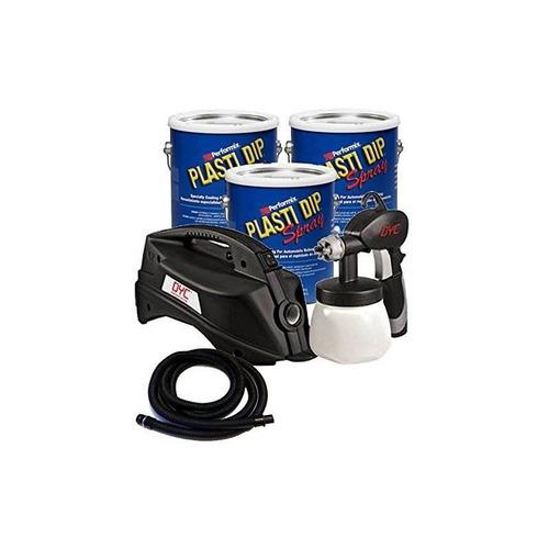 paquete - 4 piezas - plasti dip 3 galones kit básico para au