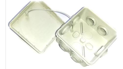 paquete 5 cajas estanca exterior para conexiones cctv ip55