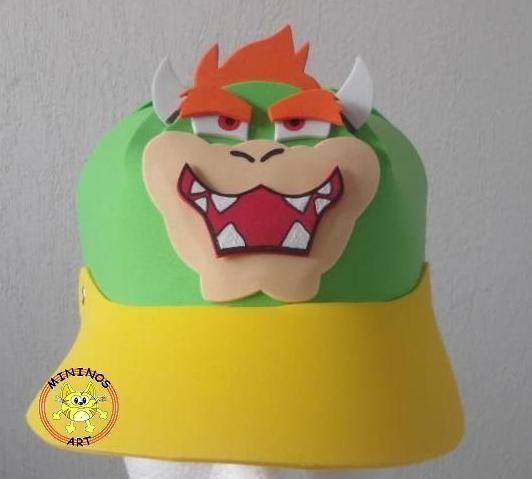 Paquete 5 Gorras Foami Fomi Disfraz Mario Bros - $ 90.00 en ...
