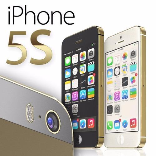 paquete 5 iphone 5s 16gb grado a caja sellada mayoreo