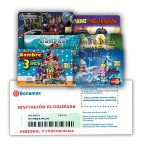 24 Tarjetas Invitacion Cumplea Os 9x13 La Sirenita Ariel