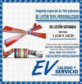 da2b1dd9b250 Pulsera De Liston Personalizadas 55 en Mercado Libre México