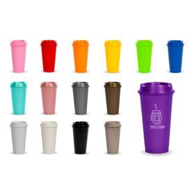 Paquete 50 Vasos Reusables Para Cafe Tipo Starbucks