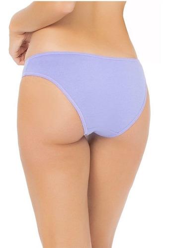paquete 7 bikinis panty algodón semanario ilusion 71378