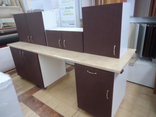 paquete basico en promocion cocina con 5 modulos excelente