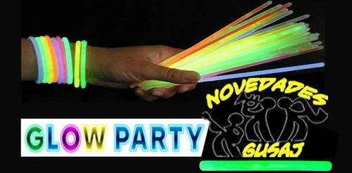 paquete batucada boda neon fiesta led party cumple xv años