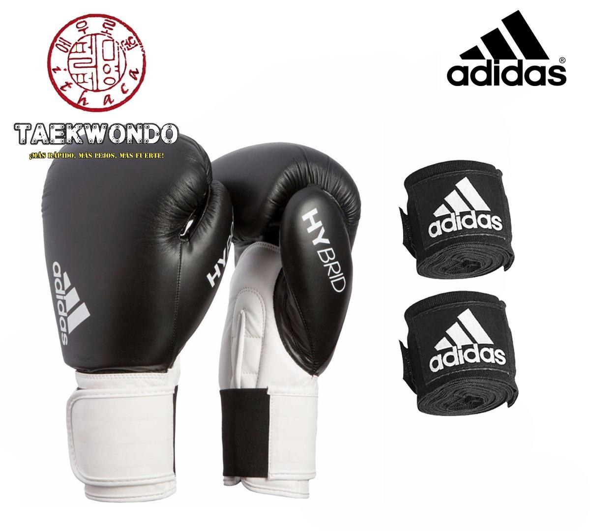 bce5e8749c1 paquete box adidas - guantes hybrid 100 + vendas 350 adidas. Cargando zoom.