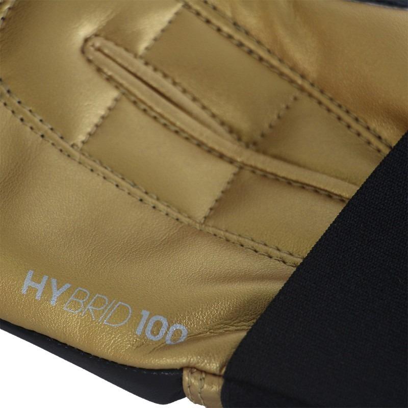 49d6cb227da paquete box adidas - guantes hybrid 100 + vendas 350 dorado. Cargando zoom.