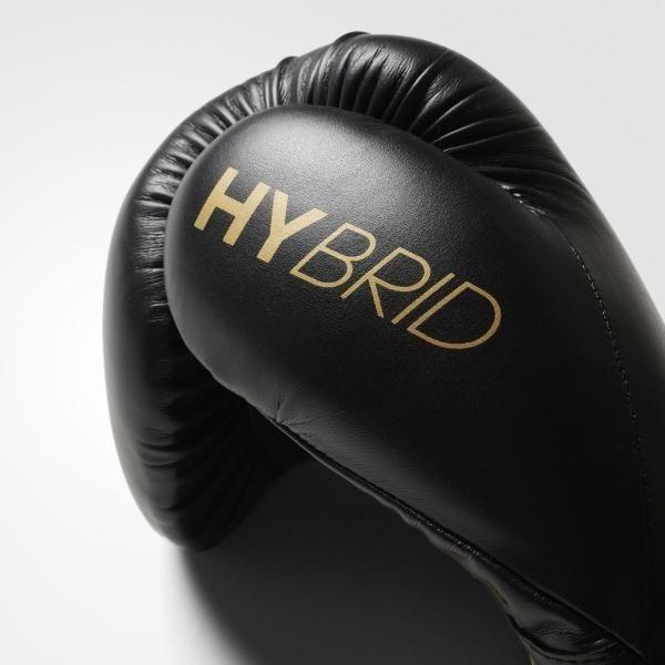 d0cb7bb2a16 Paquete Box adidas - Guantes Hybrid 100 + Vendas 350 Dorado ...