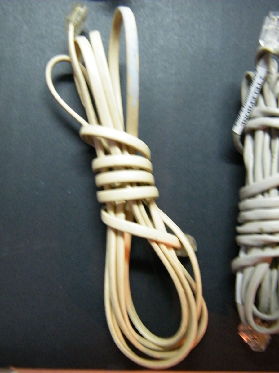 Paquete Cables Telefónicos 2 - $ 30.00 en Mercado Libre