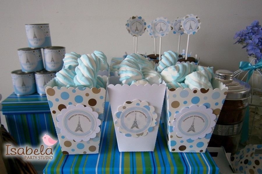 Paquete cajitas mesa de dulces bautizos baby shower 99 for Mesa de dulces baby shower