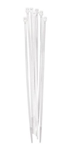 paquete cinchos plasticos ad-1739 blanco 4 pulg 100 pz adir