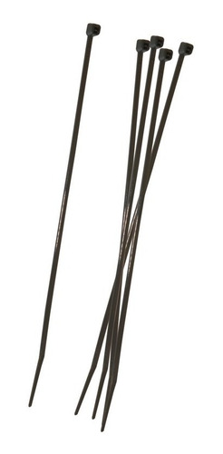paquete cinchos plasticos ad-1748 negro 8 pulg 50 pz adir