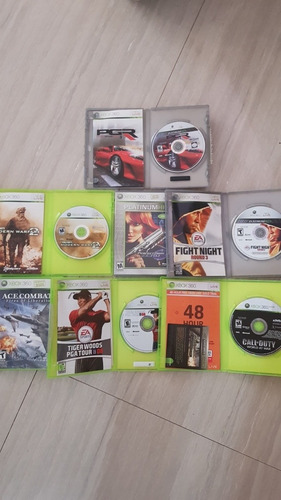 paquete combo de videojuegos xbox 360 usados