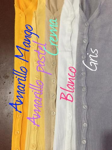 paquete con 10 suéter abierto varios colores