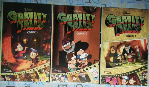 paquete con 3 comics gravity falls diario 3 comic