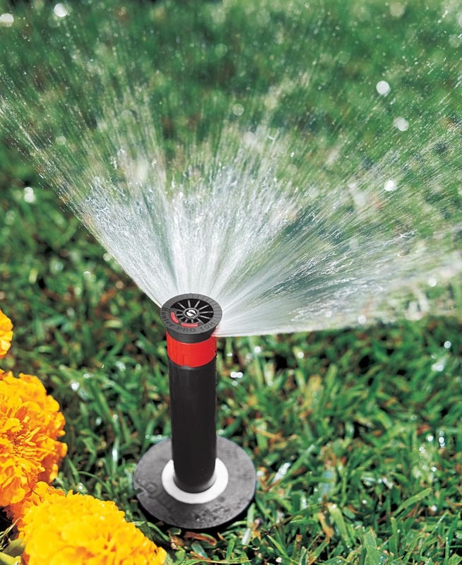 Paquete con 5 aspersores para riego hunter pro spray 06 for Aspersores riego jardin