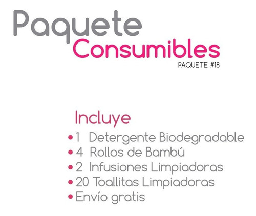 paquete consumibles my little baby