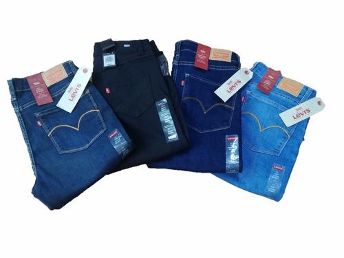 paquete d 3 pantalones levis originales dama/mujer enviograt